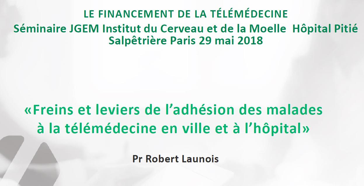 «Freins et leviers de l'adhésion des malades à la télémédecine en ville et à l'hôpital»