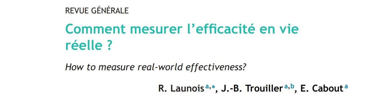 Comment mesurer l'efficacité en vie réelle ?