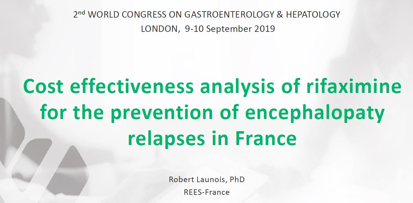 2nd World Congress on Gastroenterology & Hepatology – London – 9/10 September 2019