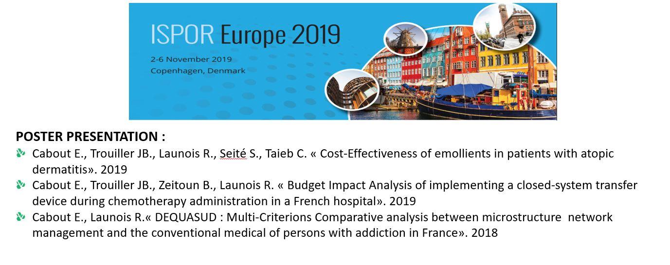 REES France présent à ISPOR Europe 2019