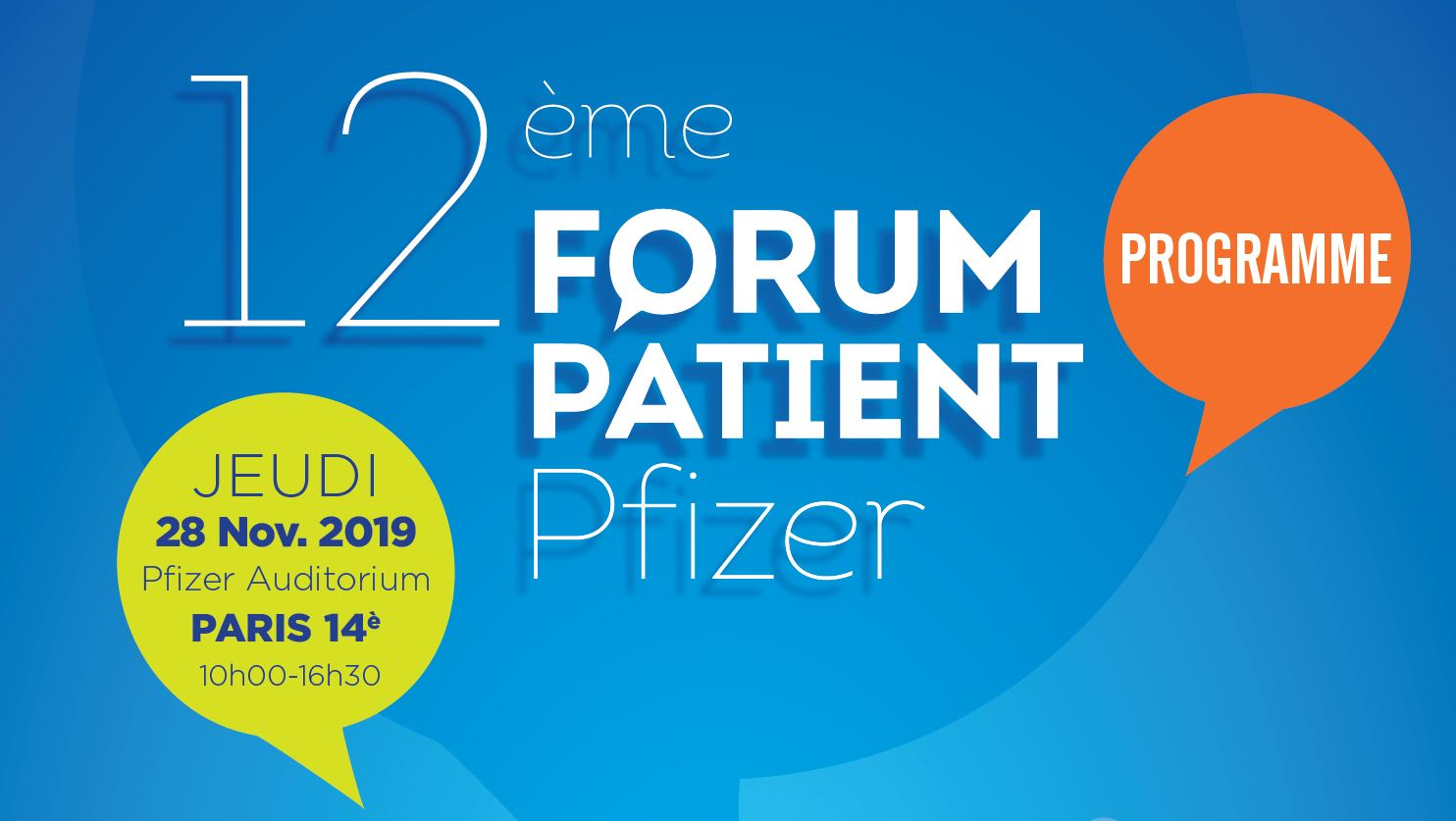 12ème Forum Patient Pfizer