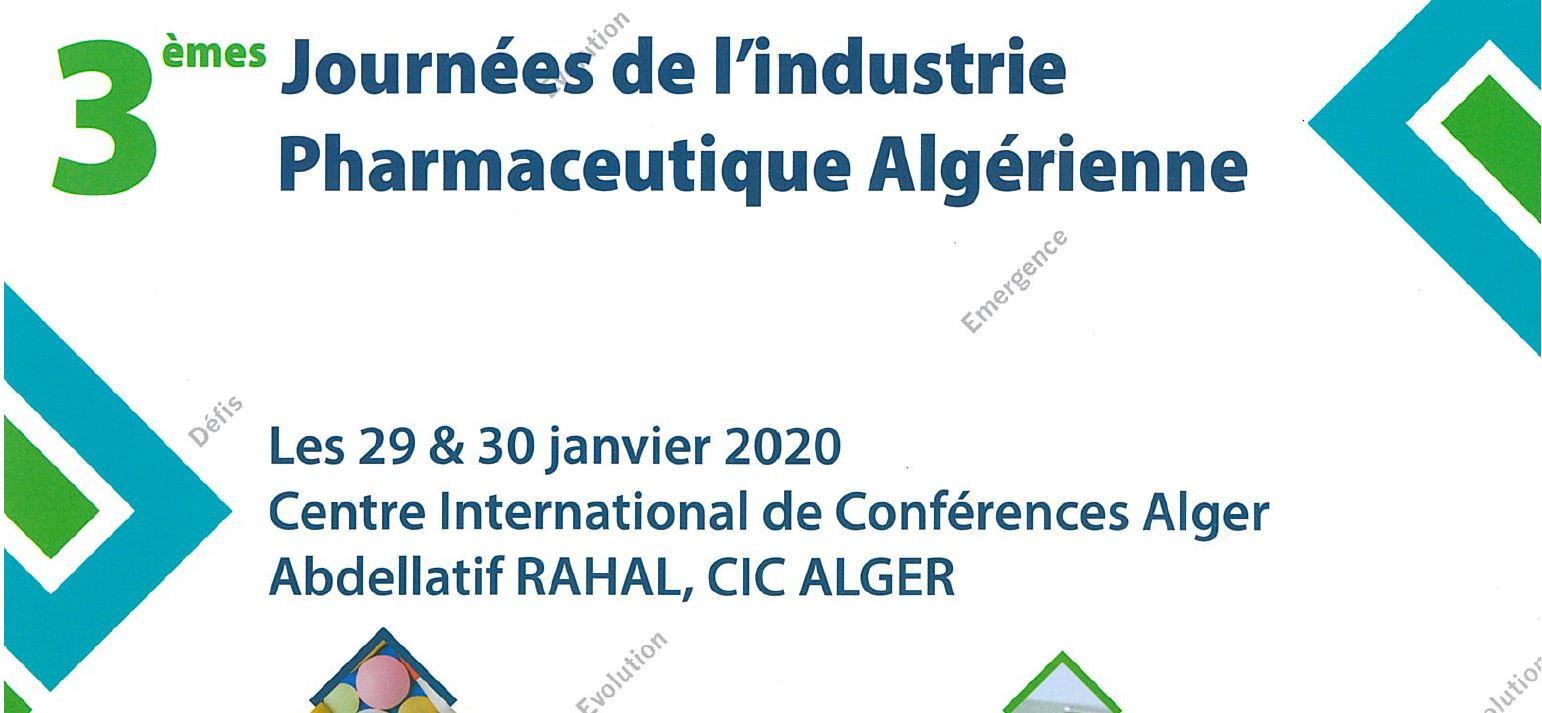 3èmes Journées de l'Industrie Pharmaceutique