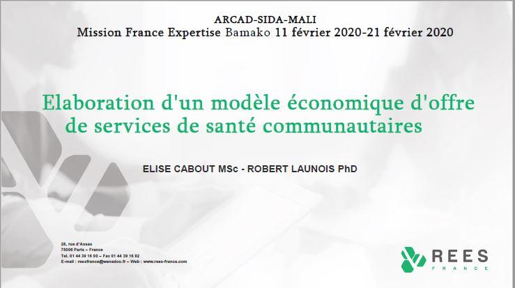 Mission France-Expertise : Bamako du 11 au 21 Février 2020